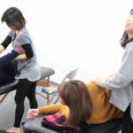 デトックスサロンフローイング 京都北野40代女性へ骨格矯正&リンパマッサージで流れる体へ-五十肩、四十肩、三十肩の方:練習モデル募集:残4名
