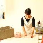 デトックスサロンフローイング 京都北野40代女性へ骨格矯正&リンパマッサージで流れる体へ-お客様O様の声:アロマミルクリンパ60分